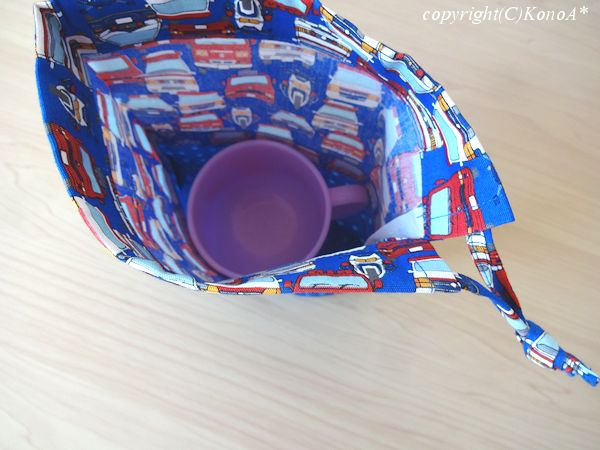 サイレンカーブルー02:コップ袋