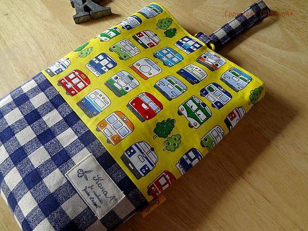 カラフル電車イエロー:シューズ袋